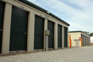Our storage rental units at 3610 Benson Road