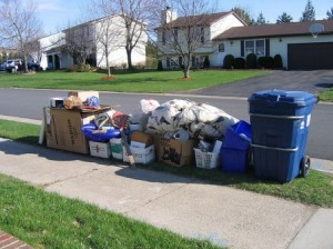 Turner Farms Self Storage in Garner, NC can help you reduce clutter like this.